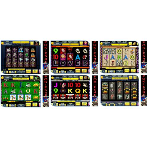 Windows Standard Edition: Pokies Arcade Slots 6 Games Pack Download Codes (Pc)