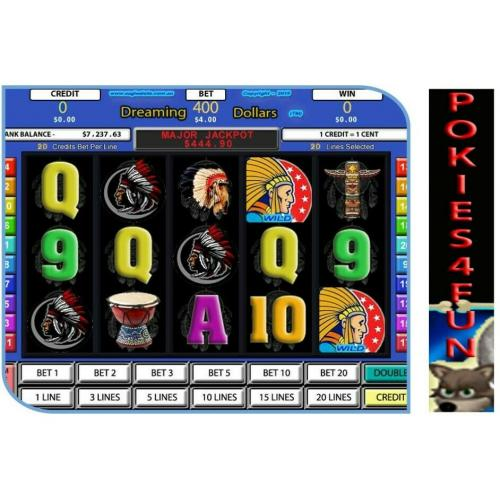 Win Xp,Vista,7,- Slot Factory - Dreaming Dollars - Slot Games - Full Version D/load (Pc)