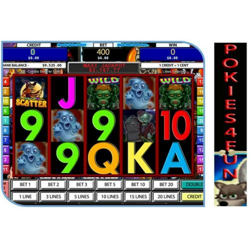 Win Xp,Vista,7,- Slot Factory - Spooky Spins II - Slot Games - Full Version D/load (Pc)