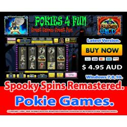 Windows Standard Edition: Pokie Slots- Spooky Spins Remastered Download Code(Pc)