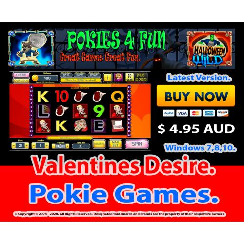 Windows Standard Edition: Pokies Slots Valentines Desire Download Code (Pc)