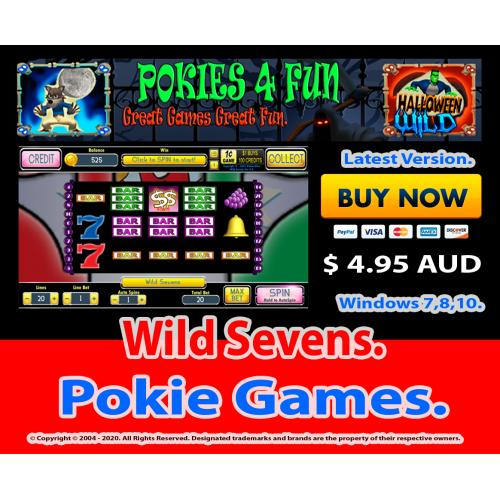 Windows Standard Edition: Pokie Slots- Wild Sevens Download Code(Pc)