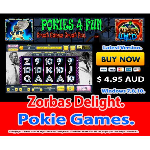 Windows Standard Edition: Pokie Slots- Zorbas Delight Download Code(Pc)