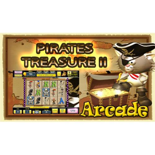 Arcade Standard Edition: Pokie Slots- Pirates Treasure II Download Code(Pc)