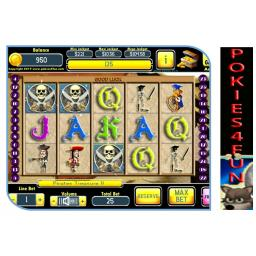 Play Pirates Treasure II at Club Pokies4fun