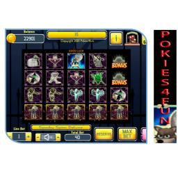 Play Spooky Spins Deluxe @ Club Pokies4fun